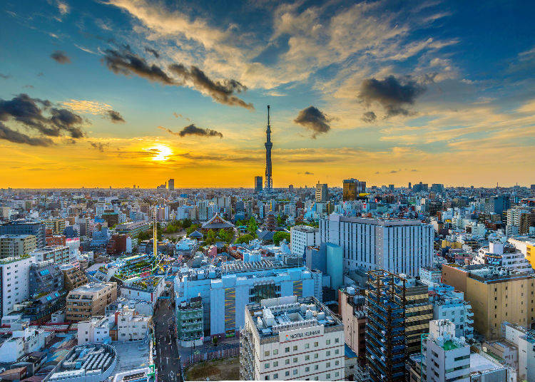 Extra: Get down the basics of hotels in the Tokyo area!