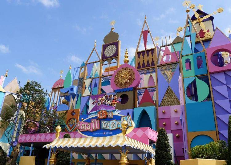 """Attractions: Re-opening """"it's a small world"""""""