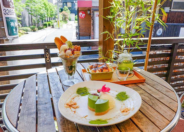 到東京喝茶去! 在滿溢和風摩登的氛圍中充份享受日式抹茶的魅力