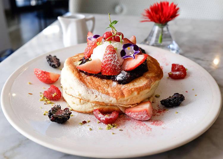 無麩質又低糖低卡的健康美味!「ELLE café」青山旗艦店的絕美鬆餅