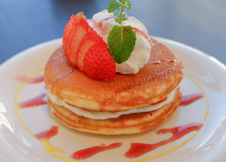 不摻水加入優格好清爽!「代官山 Pancake cafe Clover's」的自豪美味鬆餅
