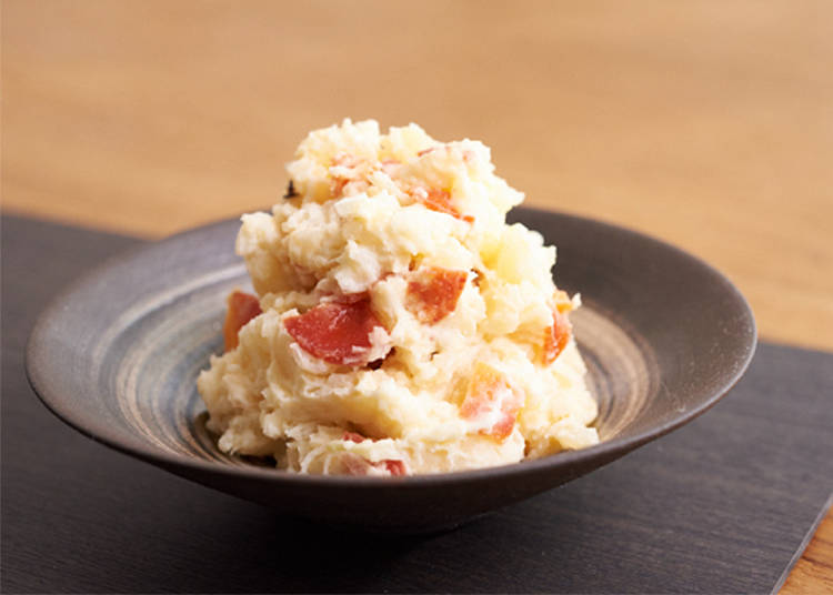 Side: Japanese Oden-style Potato Salad
