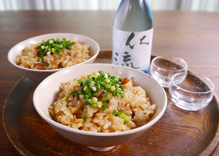 Ikameshi, Squid Rice