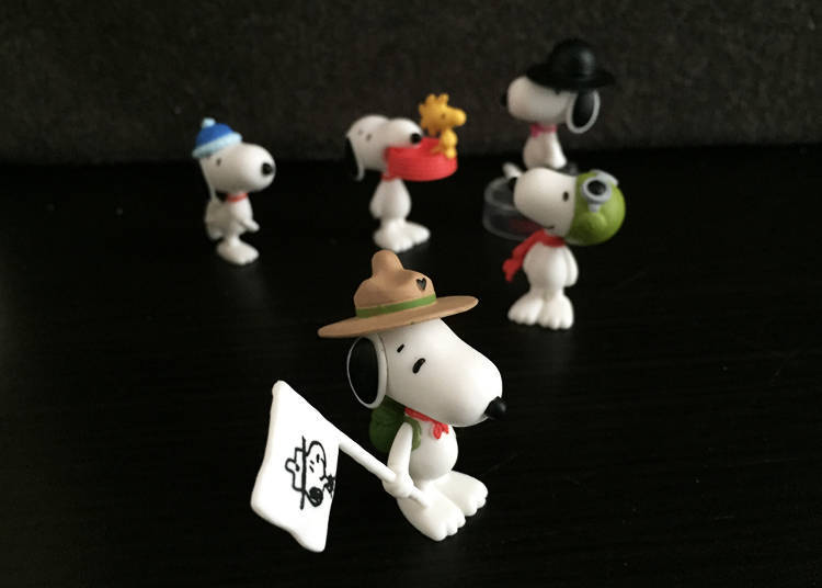 Snoopy Figure Collection/300 yen