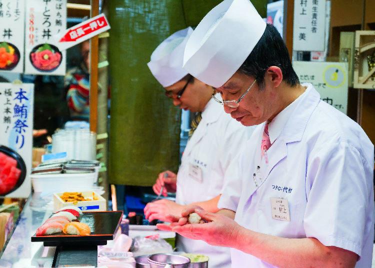 Nigiri, Maki, Oshi – Sushi Varieties