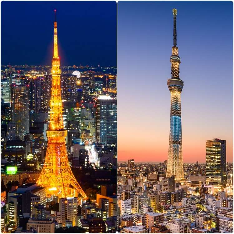 Tokyo Tower vs. Tokyo Skytree: Spice Up Your Sightseeing Adventure with Fun Trivia!