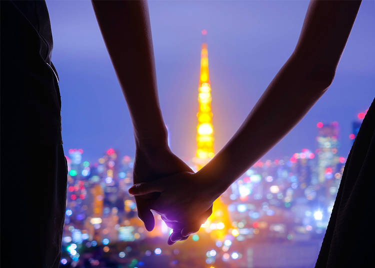 Trivia #2 – Japanese Urban Legend: Look at Tokyo Tower with Your Crush the Moment the Lights Turn Off and You'll Live Happily Ever After!