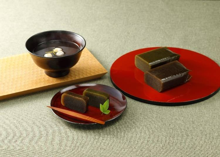 """Okuyame Gift"" – Soup Stock and Sweet Bean Paste Jelly Suffused with the Essence of Japan"
