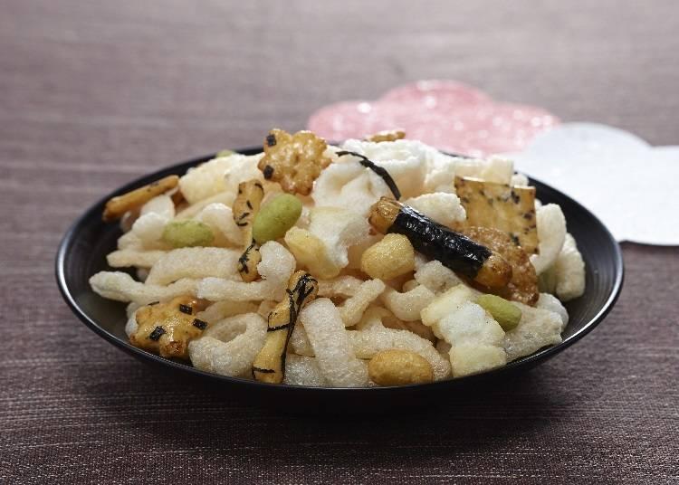"""Edo Miyage"" – Crisp and Light. The Rice Cracker of Choice for True Tokyoites"