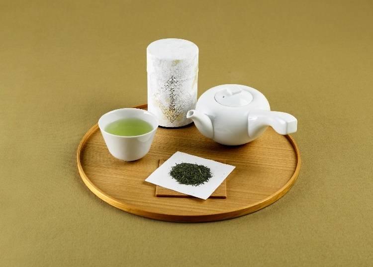 名人の名を冠した煎茶は、一番茶のみを使用。【煎茶 名人憲太郎】
