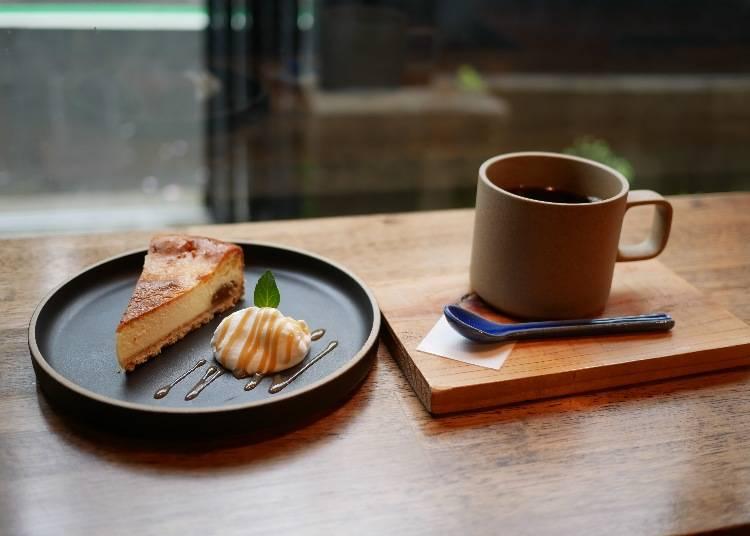 萊姆酒漬無花果起士蛋糕(ラム漬け無花果のチーズケーキ)