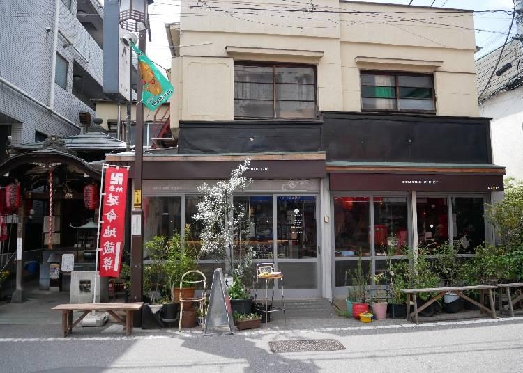 enmei cafe 延命地藏菩薩旁的長命健康咖哩