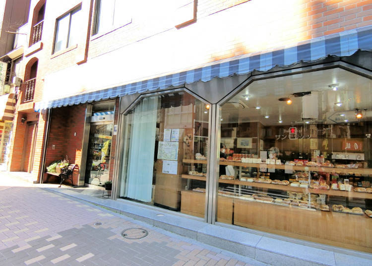 St. Moritz, the Local Bakery