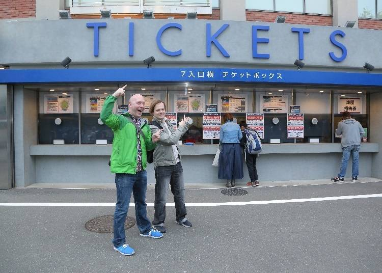 Buying Advance Tickets Online
