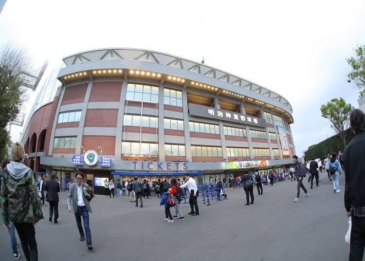 神宮球場は渋谷からもすぐ!アクセス良好です!
