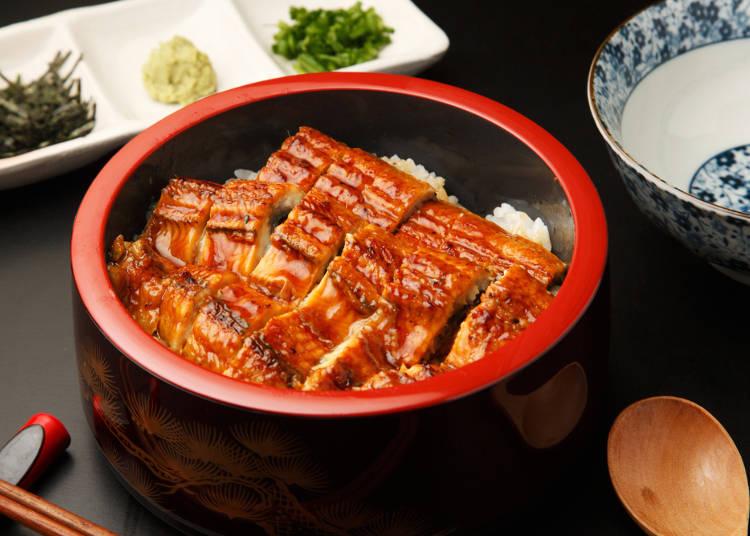 1:日本料理でいちばんおいしいのは「うなぎ」!