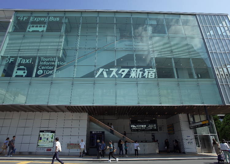 1. Busta Shinjuku access: Directly in Front of JR Shinjuku Station's South Exit, Connected to the New South Ticket Gates!
