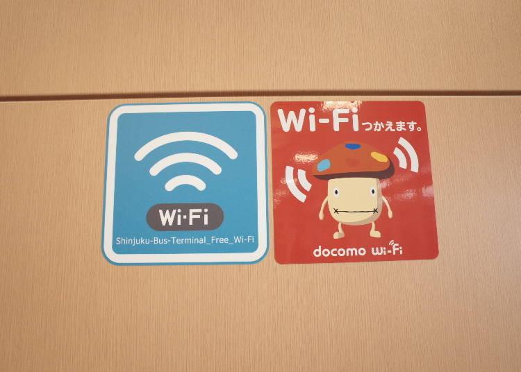 12. Free Wi-Fi Throughout the Terminal!
