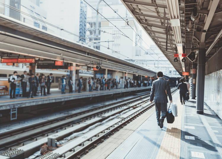 The Joys of Japan's Public Transportation!
