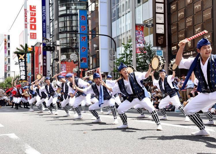 The Shinjuku Eisa Festival 2018