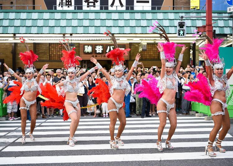 第37回 浅草サンバカーニバル パレードコンテスト