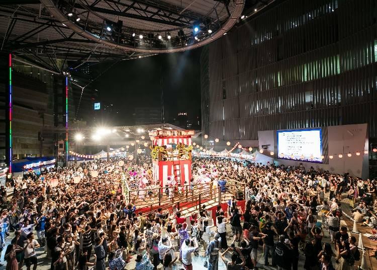 六本木ヒルズ盆踊り2018