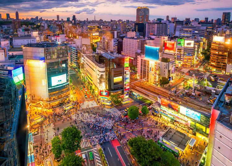 9. Shibuya - Tokyo's Youth Capital