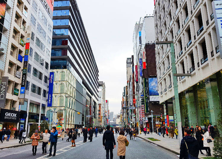 7. Ginza - Tokyo's Haute Couture Center