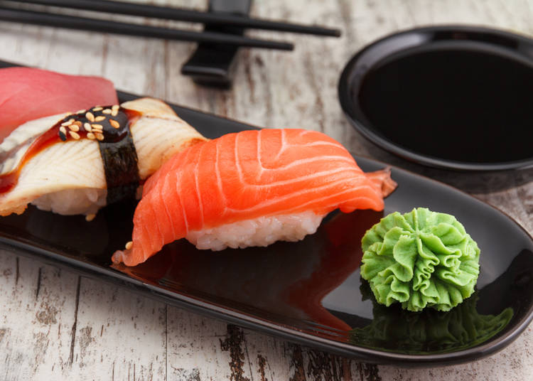 3. Using wasabi to prevent food poisoning