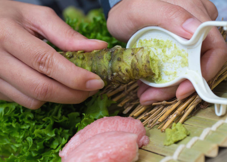9. True wasabi's flavor disappears quickly