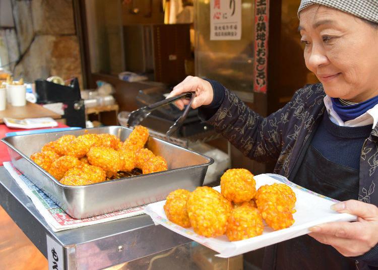 Wander the Tsukiji marketplace