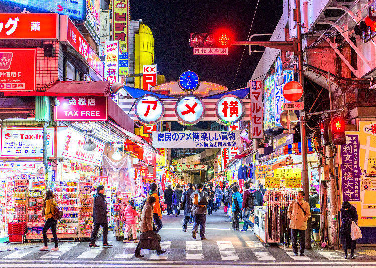 Eat and shop 'til you drop in Ameyoko
