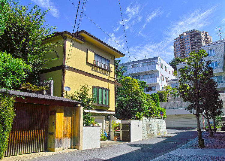 What kind of apartments are there in Japan?