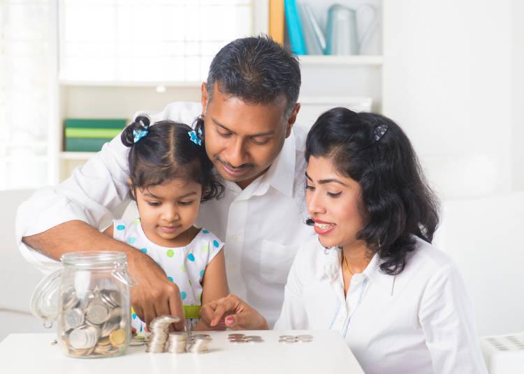 父長制の厳しいインドは父親がお金もマネジメント