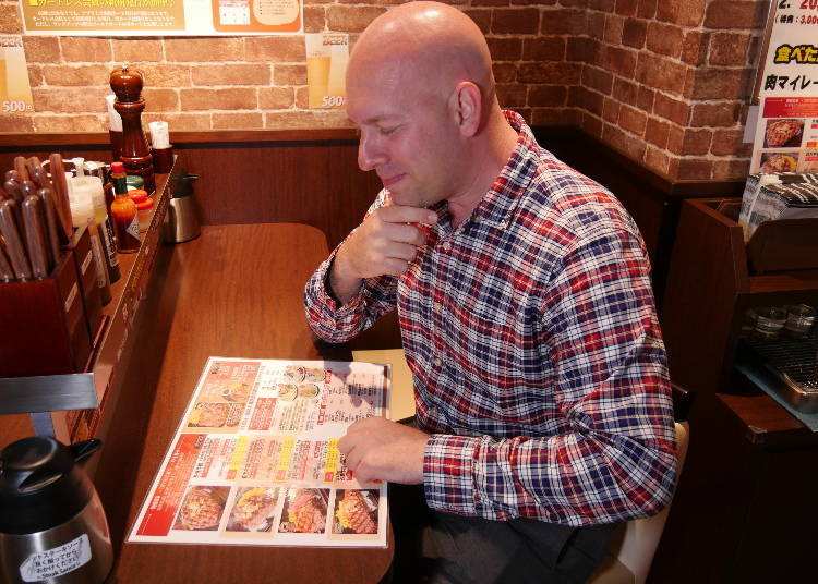 Tough Choices: What to Pick from the Menu?