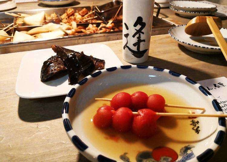 도쿄 에비스 맛집 - 에비스에 위치한 겨울에 추천인 인기 오뎅가게