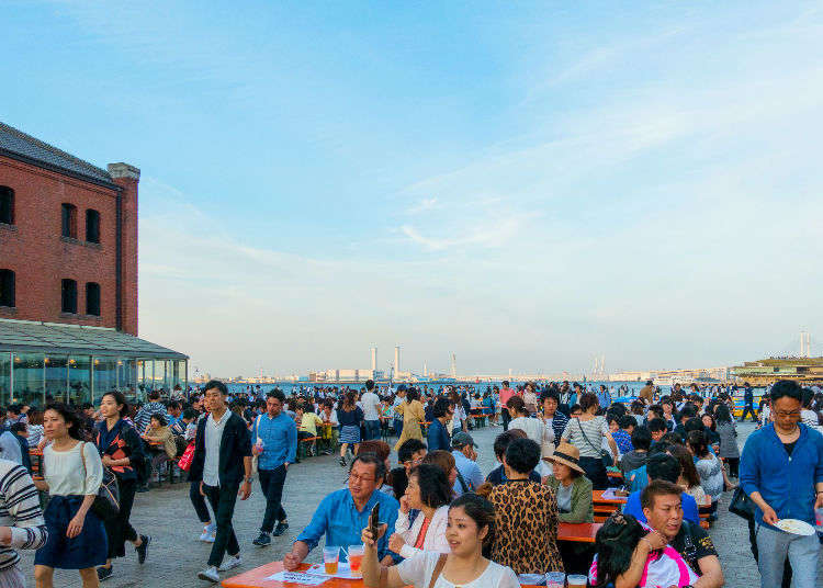 Escape Japan's Summer Heat - 3 Beer Gardens with Gorgeous Night Views!