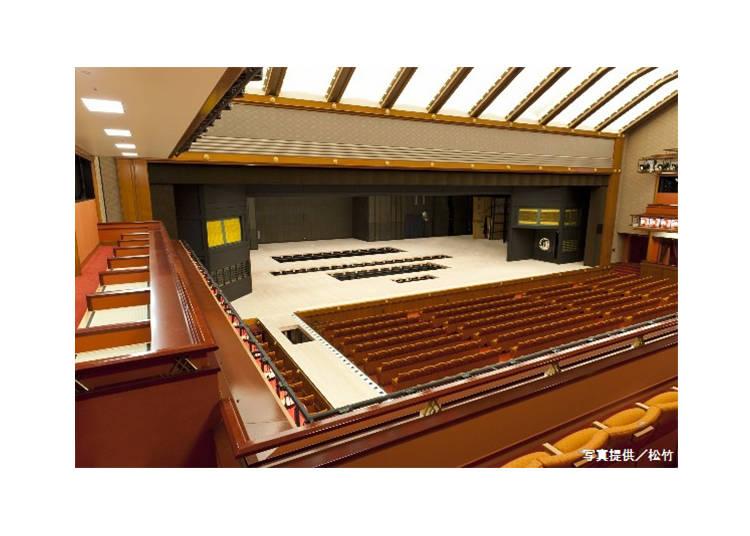 Kabuki-za Theater Part III: the Kabuki Stage