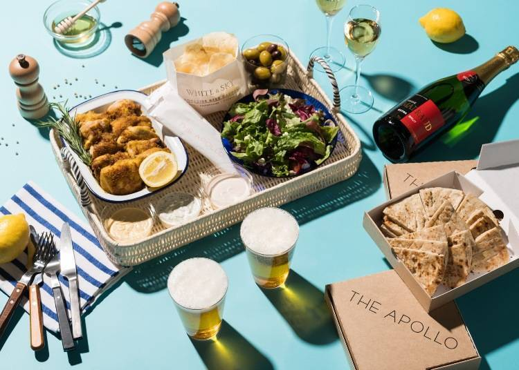 White & Sky Poolside Beer Garden: a Stylish, Sophisticated Experience in Ginza