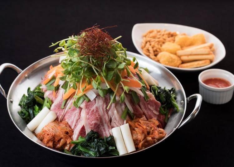 16階屋上でスタミナ満点の鍋料理!「炎のプルコギ伝説β」/東武百貨店 池袋店