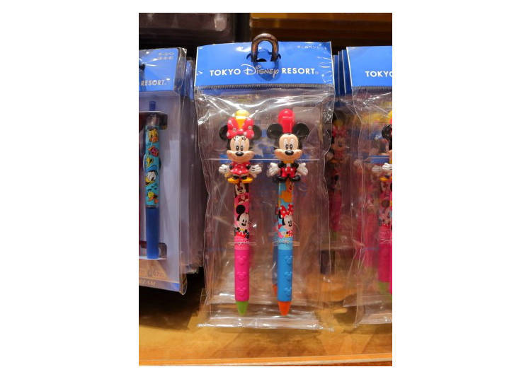 Mickey & Minnie Ballpoint Pen Set, \1200