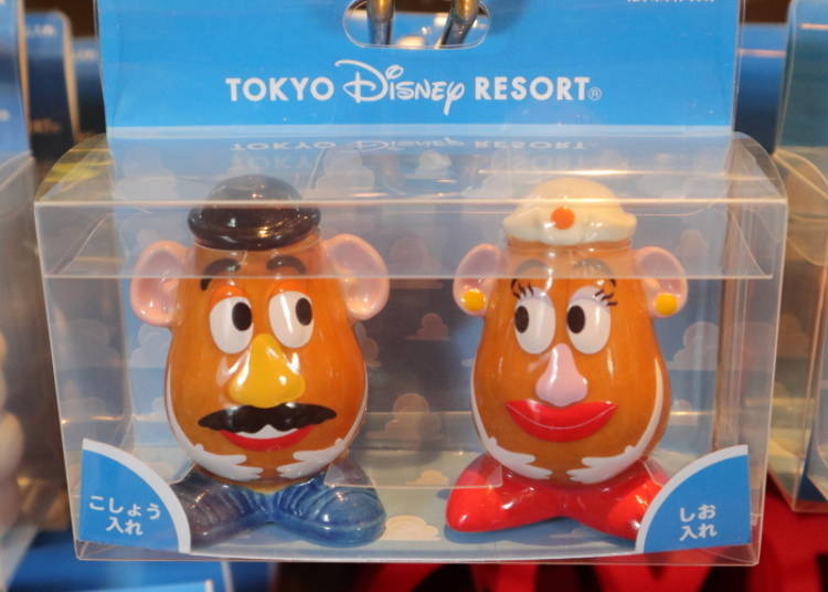 Mr. and Mrs. Potato Head Salt & Pepper Shakers, 2,000 yen (Cruet Set)