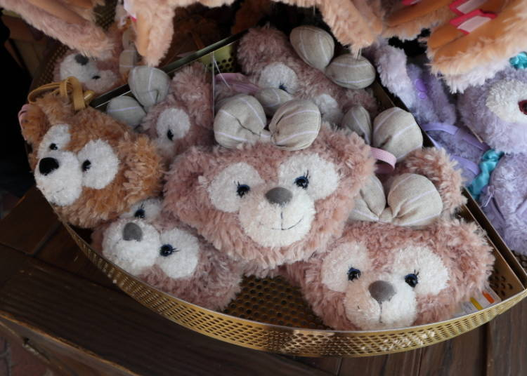 Duffy & ShellieMay Coin Case: Keep Your Change in a Cute Way! (1,700 yen each)