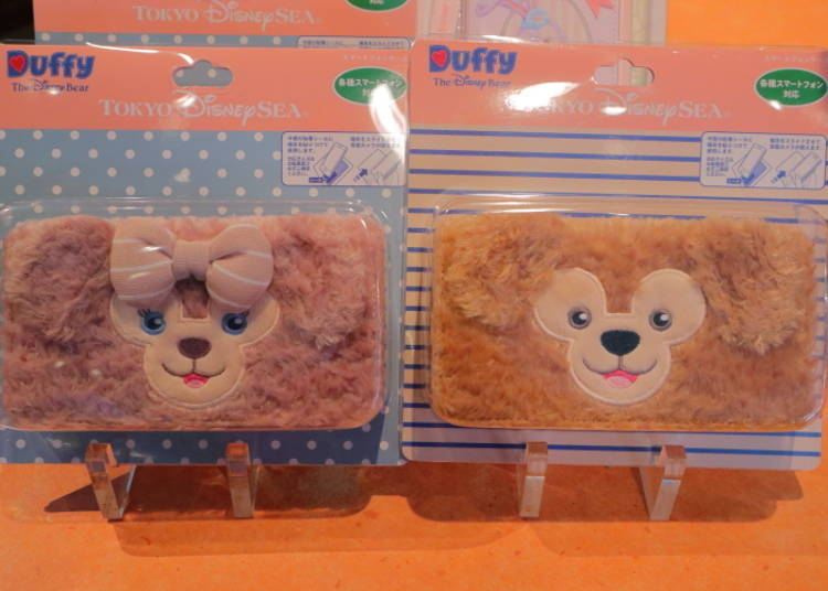 Duffy and ShellieMay Smartphone Cases: the Fluffiness is Positively Addictive! (3,900 yen)