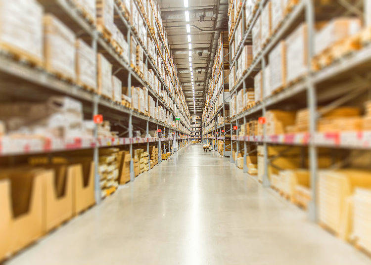 Secret No. 4 – Daiso's Automated Warehouse Fits Tokyo Dome 16 Times!