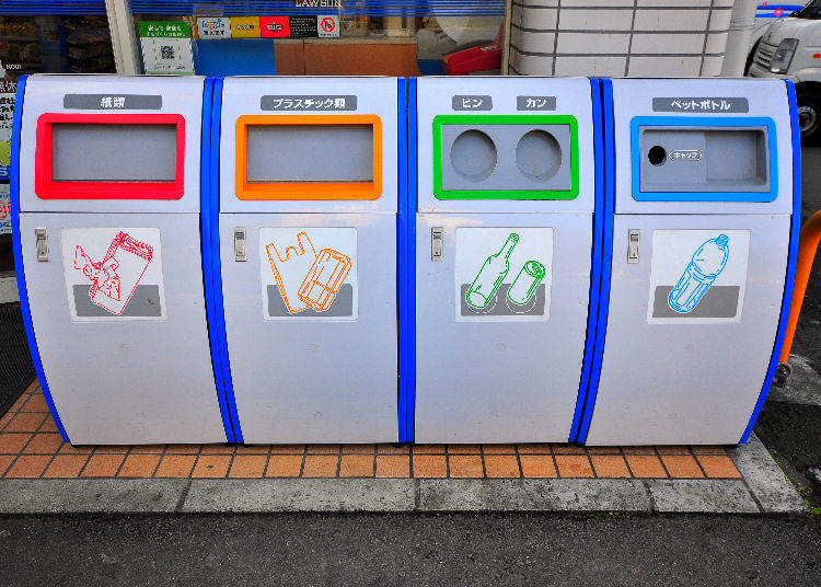 Bonus: Convenience Stores also Have Garbage Cans!