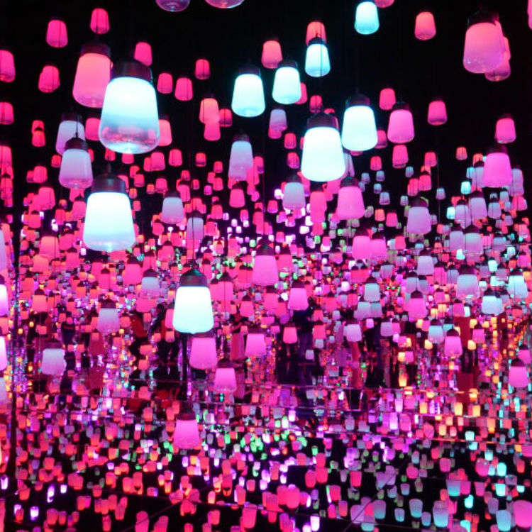 Digital Psychedelica! Inside the teamLab Borderless Exhibition