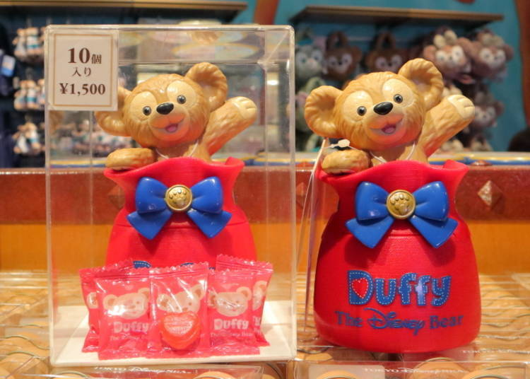 Duffy's Candy (Strawberry): Put Accessories in the Box Once the Candy is Gone! (1,500 Yen)