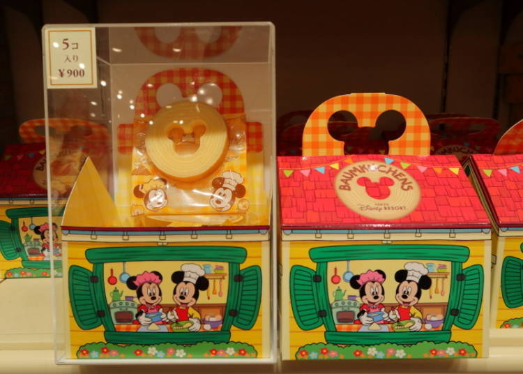 Baumkuchen: Mickey in a Layered Cake! (900 Yen)