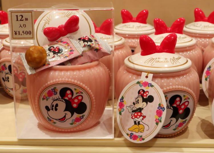 Minnie's Chouquettes: an Adorable Pink Pot! (1,500 Yen)